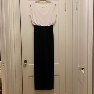 Bailey 44 Black and white jumpsuit
